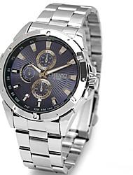 cinta de aço lagmeey® clássico de alta classe impermeável relógio de quartzo