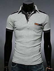 Men's Casual Fashion Short Sleeve POLO Shirt