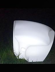 Illuminated Glowing Sofa Chair Modern Salon Furniture
