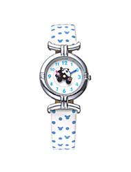 venta caliente niños de dibujos animados de disney famosa marca de moda banda de cuero genuino cuarzo Wacthes dc-54053