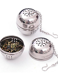Stainless Steel Tea Infuser Strainer Mesh Filter Locking Spice Ball 8.5x4.5x4cm