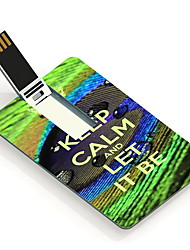 64GB Keep Calm and Let It Be Design Card USB Flash Drive