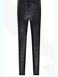 Pantalones ( Cuero )- Bodycon Mujer