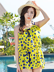 Women's Small Pure And Fresh Push Up Bikini Set Dress Yarn Cover Up Swimsuit