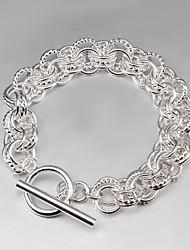 2015 vente de produits chauds 925 liens d'argent bracelet en argent sterling 925 bracelets femmes