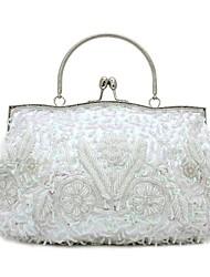 Belsen Wedding Seed Bead Sequin Flower Evening Bag