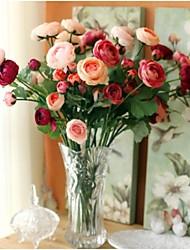 décoration de mariage artificielle merveilleuse décoration de décoration de la maison rose (ensemble de 5)