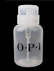 outil de nail art bouteille en plastique pompe de distribution (250 ml)