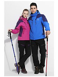 Women's Fashion w、Warm 3 - in - 1 Outdoor Jacket Wind-Proof Hiking Clothes
