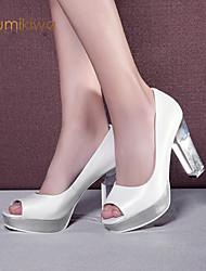 kumikiwa nouvelle arrivée de femmes authentiques chaussures talons hauts sandales peep toe bleu blanc et rose chaussures de dame k15cn1267