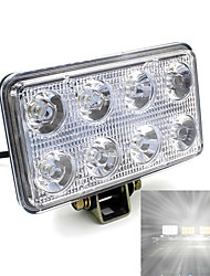Square 24W LED Work Light