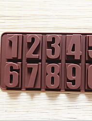 Номера Fashion One нулю силиконовых инструментов формы торт шоколадное мороженое желе конфеты кухня кулинария украшения торта выпечки
