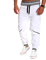 MEN - Pantaloni - Vintage / Informale / Feste / Lavoro A vita medio-alta - Attivo Cotone / Raion