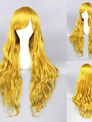 32-Zoll-blonde locken schöne lolita Perücke