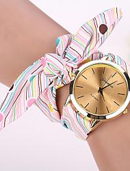 семь девочка случайно старинные DIY полоса лук часы