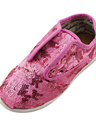 Girls' Shoes Outdoor/Athletic/Casual Comfort Glitter Fashion Sneakers Pink