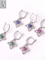 AS 925 Silver Jewelry  A quadrilateral.