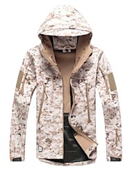 TAD Softshell Jacket Desert Camouflage Shark Skin Soft Shell Waterproof Hunting Jacket