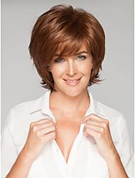 популярный прекрасный продажа коричневый syntheic парики в Европу и Америку