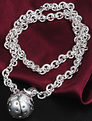 Jmiya Women Necklace , Vintage / Cute / Party / Casual Silver-Plated