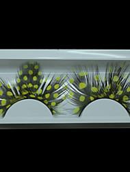 Fashion Feather Eyelashes Individual False Eyelashes Makeup For Party Lashes Accessories