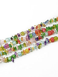 "Beadia Assorted Color Crystal Stone Beads 5-8mm Irregular Shape DIY Loose Beads For Making Necklace Bracelet 34""/Str"