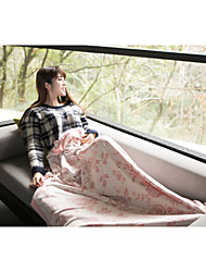 Yuxin® Modal Yarn-Dyed Jacquard Knit Blanket  Air Conditioning Blanket Summer Blanket  Naked Blanket   W150×L190cm