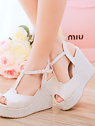 Women's Shoes Wedge Heel Wedges Sandals Casual Blue/Pink/White