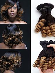 "3Pcs/lot ,12""-18"" Brazilian Virgin Hair ,Ombre hair Extensions ,Funmi Hair ,Factory Wholesales Raw Human Hair Weaves."