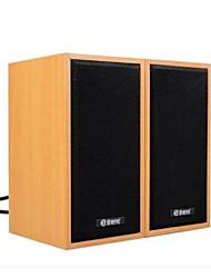 AllSpark ® Hifi Mini Multimedia Speaker System Woody Subwoofer