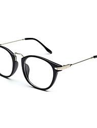 lunettes rondes informatiques en alliage de nickel des femmes classiques (de couleurs assorties)