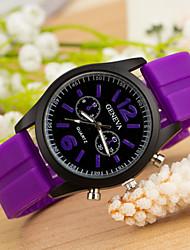 Unisex-Uhr-Frauen Uhren Kleid genven