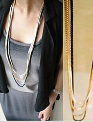 Nuoqi Fashional Popular Hot Selling Multilayer Necklace