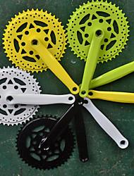 Fixed Gear Bikes Half Dead Coaster Aluminum Crankset Crank Venue Paint Color Wheel 170L Accessories