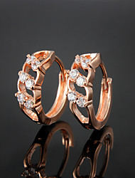 Wholesale Price Party/Casual Gold Plated Hoop Earrings High-quality Fine jewelry