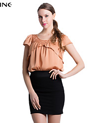 ALINE®Women's CLOTHING STYLE Elasticity Sleeve Length Top Length Top Style (Fabric)