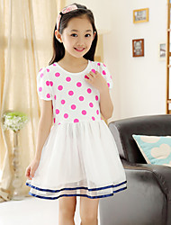 Kid's Casual Dresses (Chiffon)