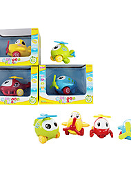 Toy Vehicles Mini Pull Back Car Cartoon Plane Set Plane Toy