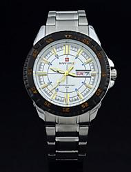 NAVIFORCE® Men Watch Top Brand Fashion Calendar Date Full Steel Wristwatch Leisure Men Sports Military Watches Relogios Masculinos