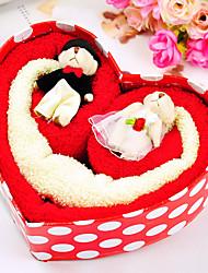 Happy Bear Cake Towel Box