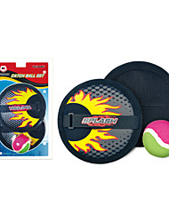 Winmax® Beach Game Catch Ball Set Including 2 Paddles And 1 Ball