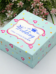 Bomboniere scatole - per Matrimonio/Addio al celibato/nubilato - Spiaggia/Fiaba - Non personalizzato - di Carta