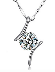 KOKO  Women's 925 sterling silver pendant necklace (excluding necklace)