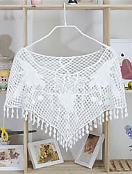 Cinderella Women's Beach/Casual/Party Hook Flower Shawl(Cotton)