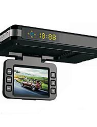 2 à 1 360 degrés voiture DVR conduite enregistreur caméscope détecteur de radar avec la voix anglais super anti radar multibande