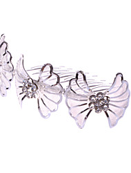 Women's/Flower Girl's Alloy/Net Headpiece - Wedding/Special Occasion/Casual Hair Combs 1 Piece