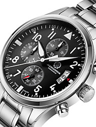 Watch the Pilot Series Super Luminous JIANIANHUA Military Men's Chronograph 6 Mens Watch Color Steel Needle Motion