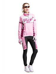 FORIDER® Sports Clothing Set Long Sleeved Women Riding Flowers