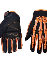 Мотоцикл перчатки Полный палец Нейлон/Лайкра/Пластик ABS M/L/XL Зеленый/Синий/Оранжевый