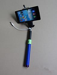 qualidade superior vara selfie com fio monopé handheld prorrogável por iphone Samsung